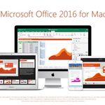 Office 2016 se actualiza para Mac con mejoras visuales y más opciones a la hora de compartir y gestionar documentos