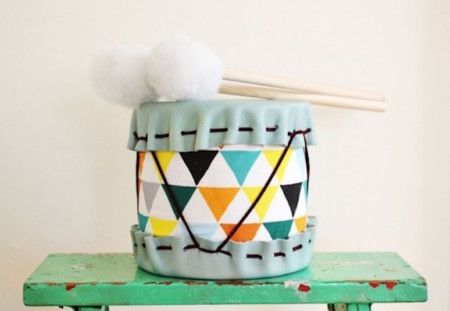 Diy Adorable Drums For Children 4 524x362