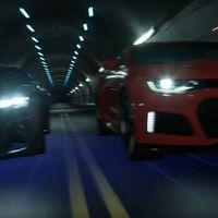 Chevrolet enfrenta al hombre y a la máquina en una carrera: Camaro ZL1 vs Chevrolet FNR