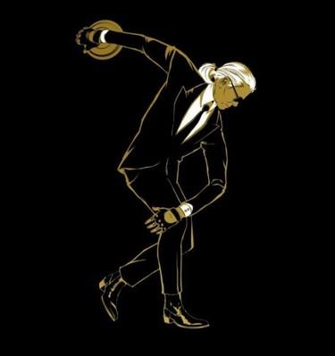 Karl Lagerfeld crea una línea de camisetas dedicada a los Juegos Olímpicos de Londres