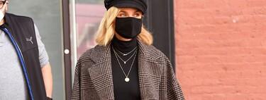 Siete abrigos a cuadros rebajados para lucir como Diane Kruger