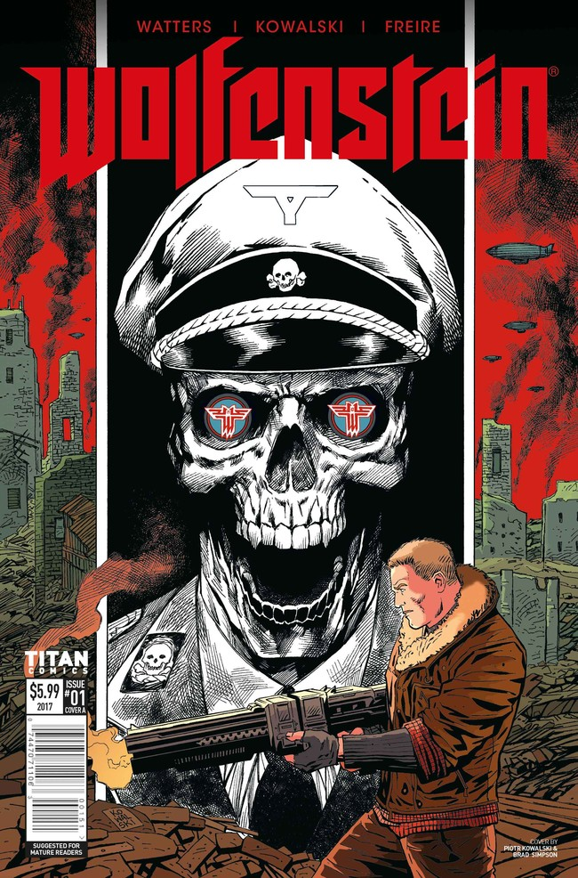 Wolfenstein Comic