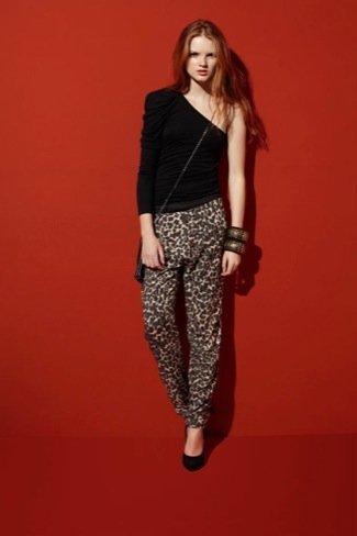Bershka Otoño-Invierno 2010/2011: animal print pantalones