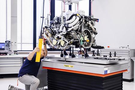 Fábrica Bugatti Chiron