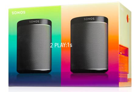 Sonos apuesta al par. Ahora dos Sonos Play:1s por 349 euros