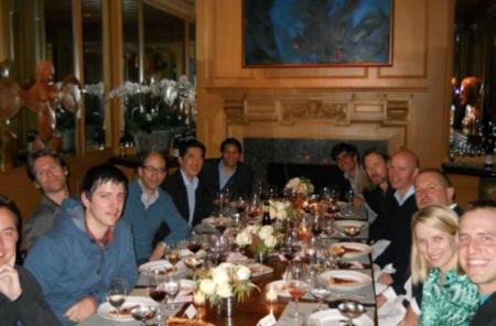 Imagen de la semana: Jony Ive se va de cena con un montón de CEOs de Silicon Valley