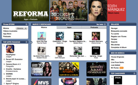 iTunes Store ya vende música en México
