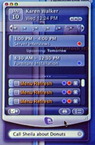 Funcionalidad My Day en office 2008
