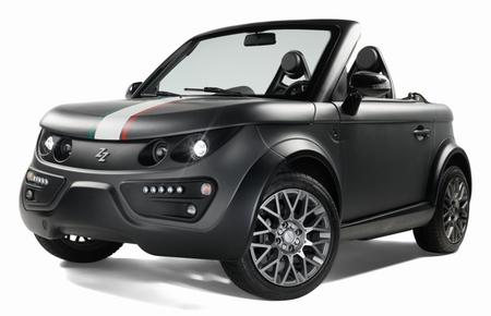 El primer coche eléctrico del Vaticano es un Tazzari Zero