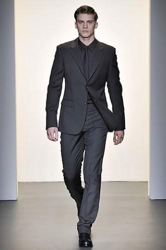 Negro completo para vestir de traje en Navidad
