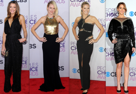 El blanco y el negro triunfan en los People Choice Awards 2013