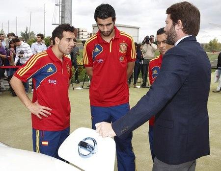 Nissan Patrocinador Selección española de fútbol 02