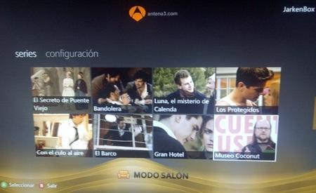 Xbox Live se actualiza con las mejores series de Antena 3