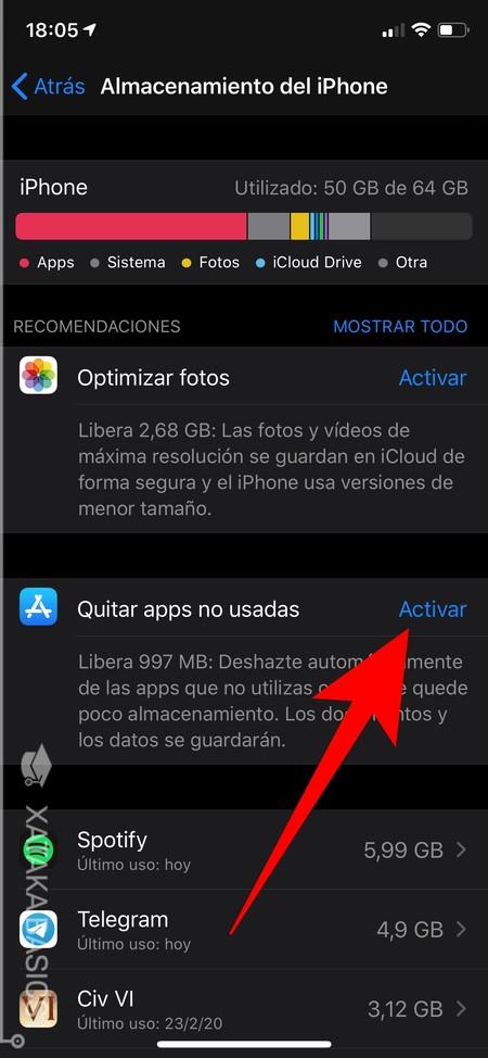 Apps No Mostradas