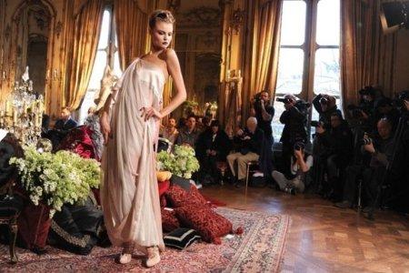 John Galliano Otoño-Invierno 2011/2012 vestido