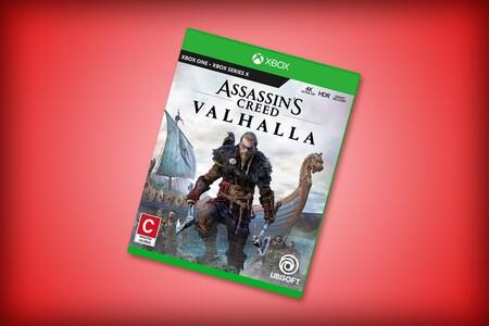 Versión de 'Assassin's Creed: Valhalla' para Xbox Series X y Xbox One en descuento con Amazon México: por tan solo 415 pesos