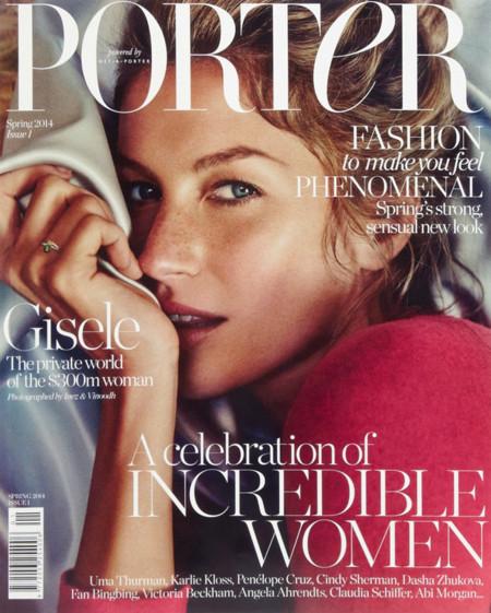 Gisele Bundchen Porter portada