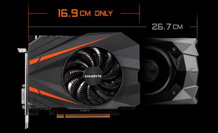 La increíble tarjeta gráfica menguante: así es la NVIDIA GeForce GTX 1080 de Gigabyte