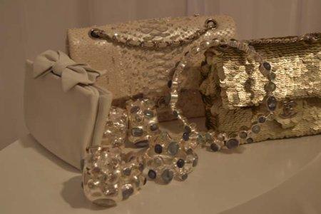 Lentejuelas doradas Chanel colección Primavera-Verano 2012