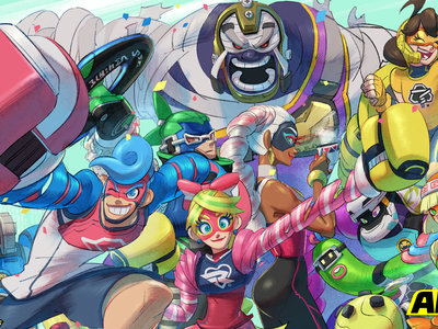 Nintendo muestra un pequeño adelanto del que será el nuevo luchador que se sumará a ARMS