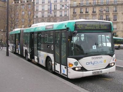 Orlybus, una forma de llegar desde el aeropuerto de Orly al centro de París