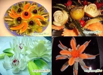 Fruta Esculpida, un placer para todos los sentidos