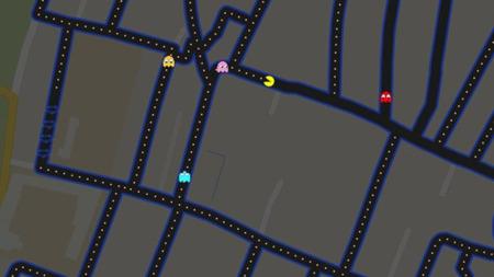 Juega Pac-Man en las calles de tu ciudad con Google Maps