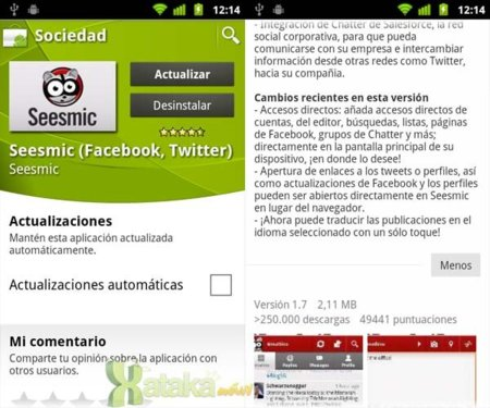 Seesmic se actualiza en Android y Windows Phone 7 con útiles novedades