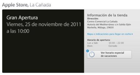 Confirmada la inauguración de la Apple Store de Marbella: 25 de noviembre
