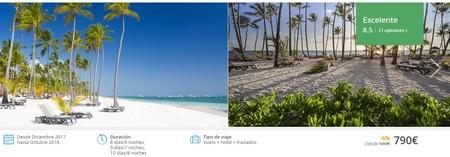 Disfruta del sol en Punta Cana durante siete noches y de un hotel de cinco estrellas por 790 euros gracias a Atrápalo