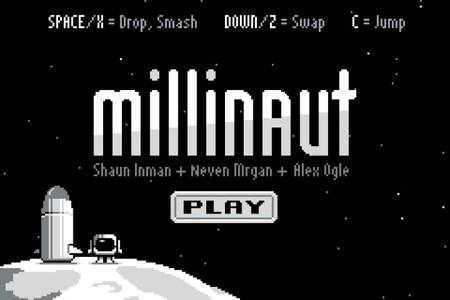 Si tenéis un rato probad 'Millinaut', un juego gratuito en Flash realizado en 72 horas