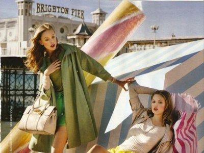 Mulberry campaña Primavera-Verano 2012: caramelos dulces y fashion