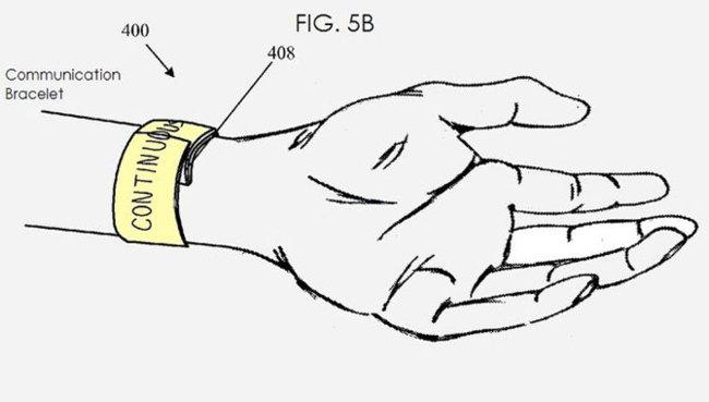 Patente de Apple iWatch
