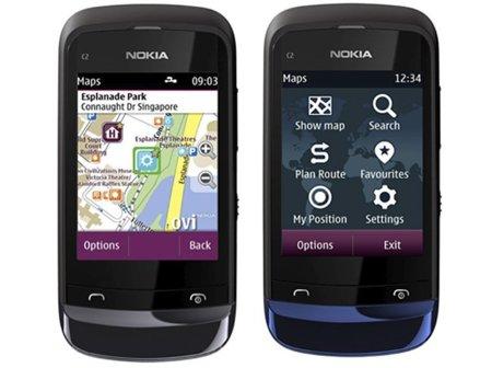Nokia mapas, disponible offline y sin GPS para los nuevos terminales con S40