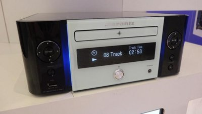 Marantz M-CR611, reproductor de CD con alma de streamer