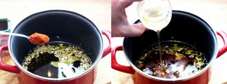 mejillones en escabeche elaboración 1