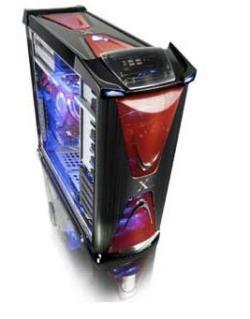 Thermaltake Xaser VI, con refrigeración líquida de serie.