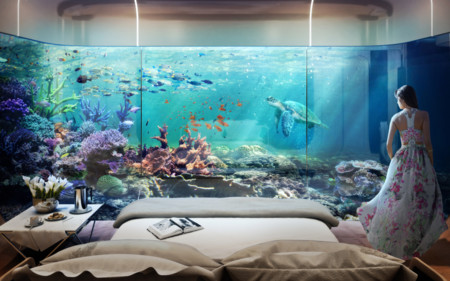 Underwater Master Bedroom