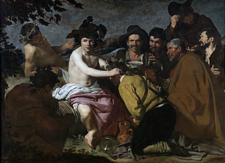 Velazquez El Triunfo De Baco O Los Borrachos Museo Del Prado 1628 29