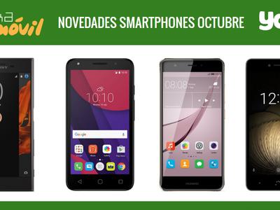 Precios Sony Xperia XZ, Huawei Nova Plus, bq Aquaris U y Alcatel Pixi 4 (5) con Yoigo