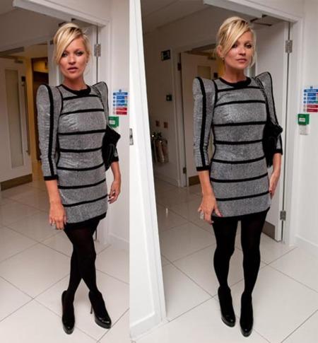 Kate Moss también quiere vestir de Balmain