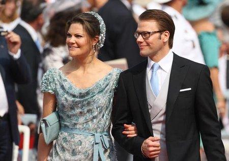 Boda Real en Mónaco: el look de la princesa Victoria de Suecia