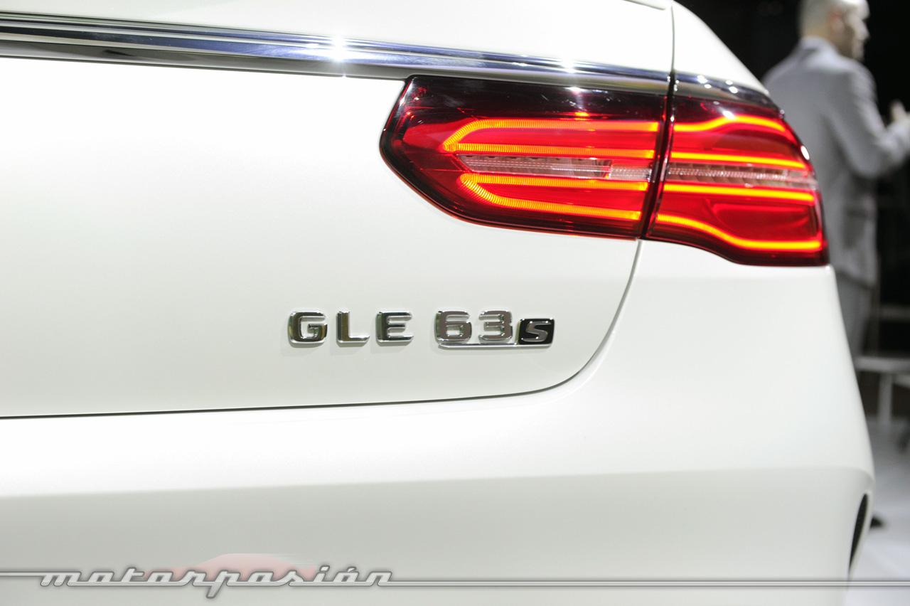 Foto de Mercedes-AMG GLE 63 Coupé (en vivo) (8/9)