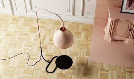 Anita, una lámpara de pie muy especial