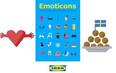 IKEA tiene emoticonos para ti, sin tornillos ni instrucciones infernales... o casi