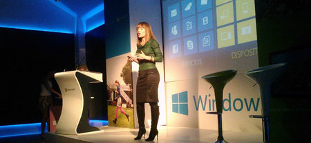 Declaraciones y evento de lanzamiento del Windows 8 en Madrid