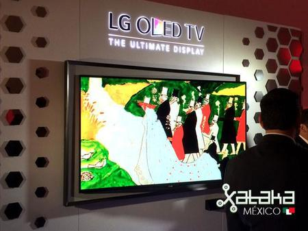 LG Gallery OLED TV Mexico