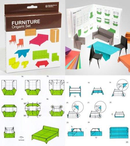 Muebles origami