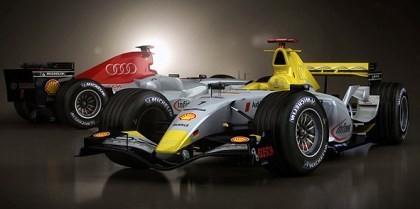 Este podría ser un Audi de Fórmula 1