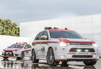 Mitsubishi Lancer Evolution y Outlander, safety cars oficiales de Pikes Peak